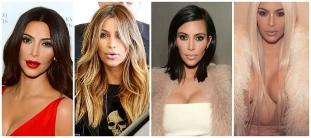 cambios look vanidad kim kardashian