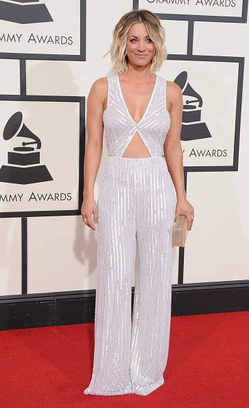 Singer arrives at The 58th GRAMMY Awards at Staples Center on February 15, 2016 in Los Angeles, California.