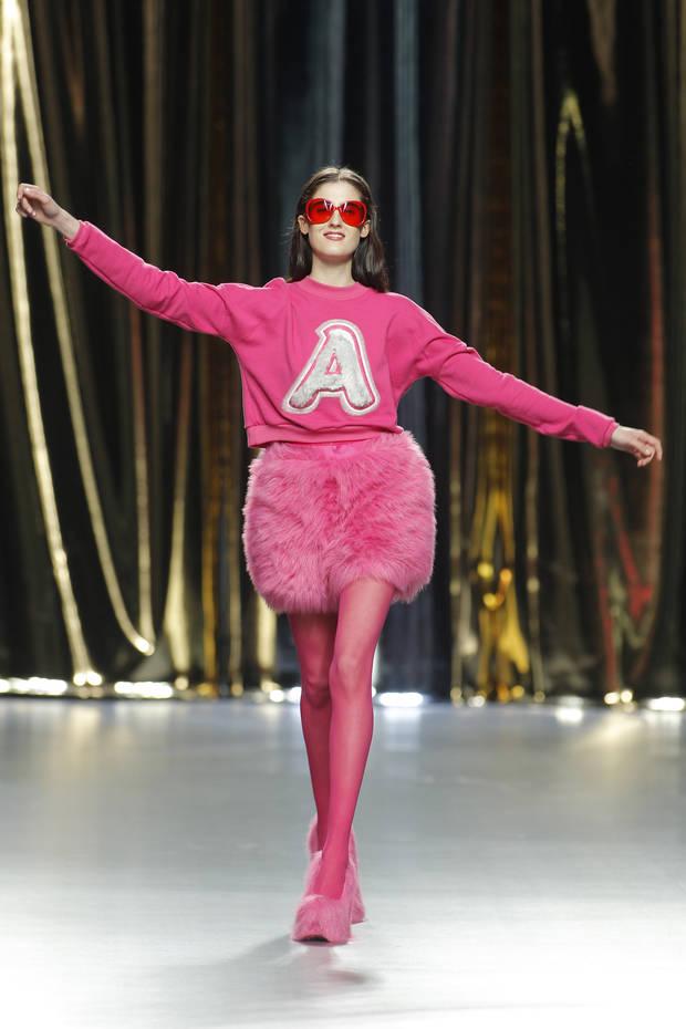 Agatha Ruís de la Prada vanidad rosa