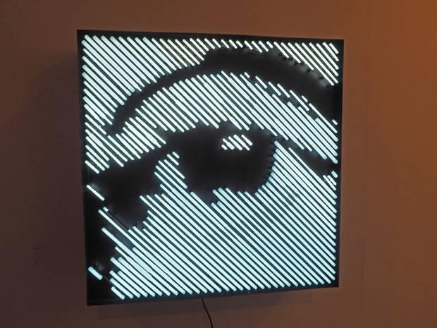 2. Alexandre Farto, Gleam. Galería Vera Cortés.