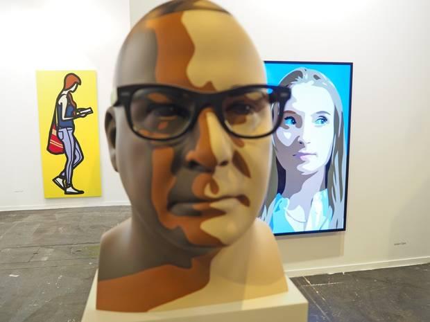 8. Julian Opie, Krobath. Wien Gallery