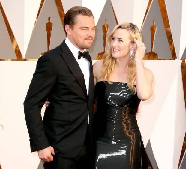 Kate y Leo Oscars