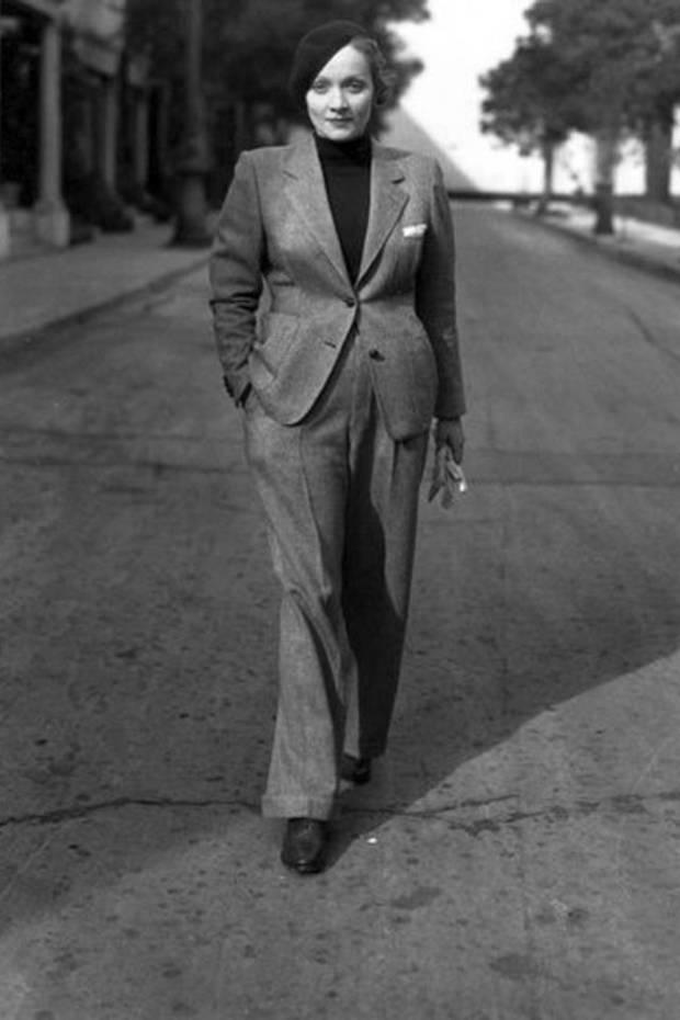 Marlene Dietrich-vanidad