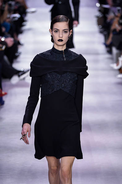 PARIS, FRANCE - MARCH 04: A model walks the runway during the Christian Dior show as part of the Paris Fashion Week Womenswear Fall/Winter 2016/2017 on March 4, 2016 in Paris, France. (Photo by Peter White/Getty Images)