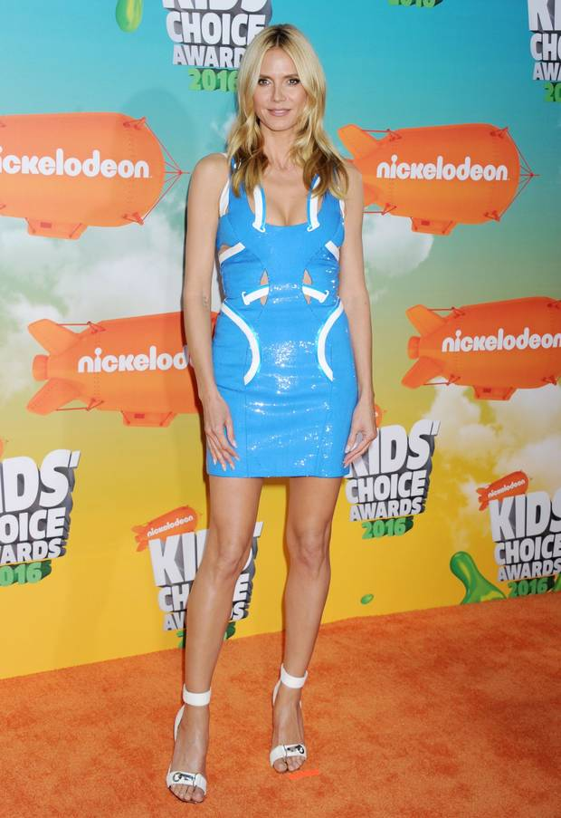 los looks mas impactantes de la semana Heidi Klum