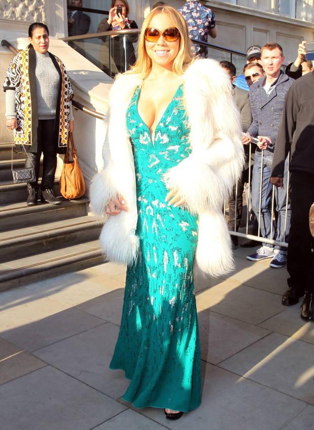 los looks mas impactantes de la semana Mariah Carey