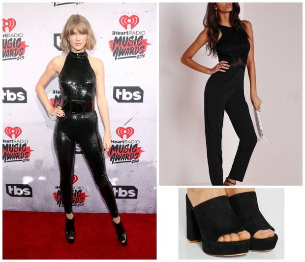 Copia el look vanidad Taylor swift