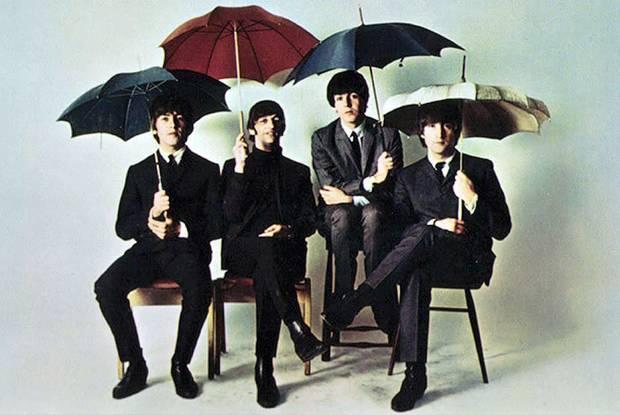 paraguas famosos beatles