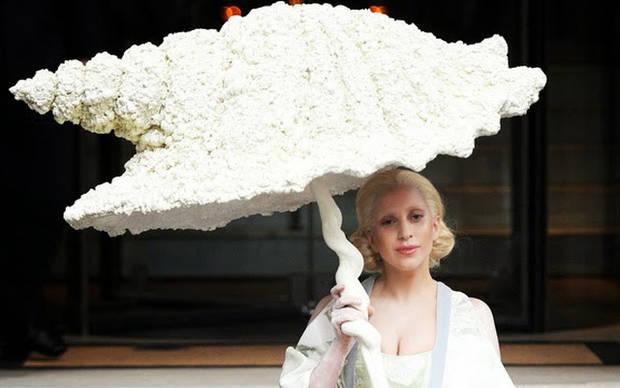 paraguas famosos lady gaga