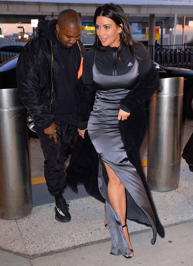los looks mas impactantes de la semana kim Kardashian y kanye west