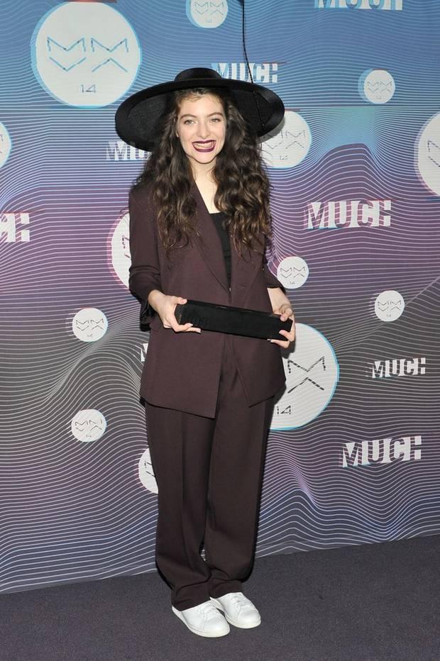 5 estrellas del pop con mucho estilo Lorde