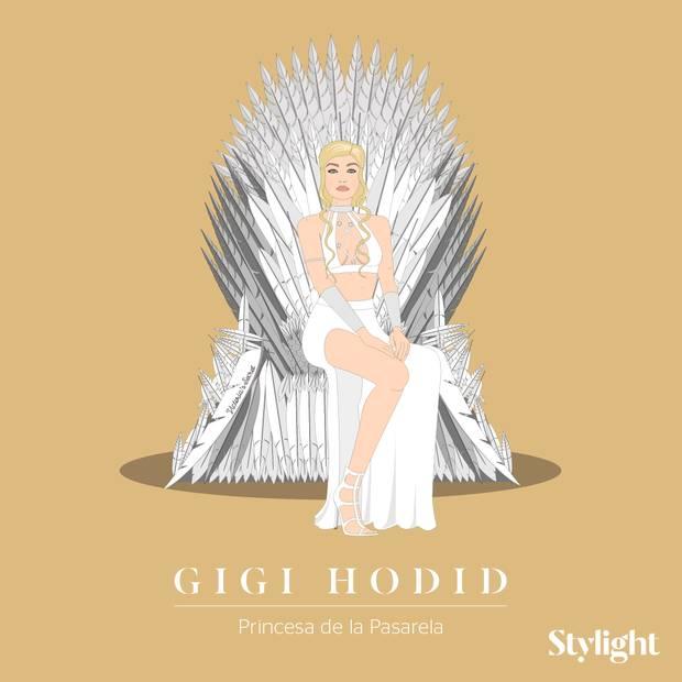 Y si las celebrities fueran personajes de Juego de Tronos Gigi Hadid