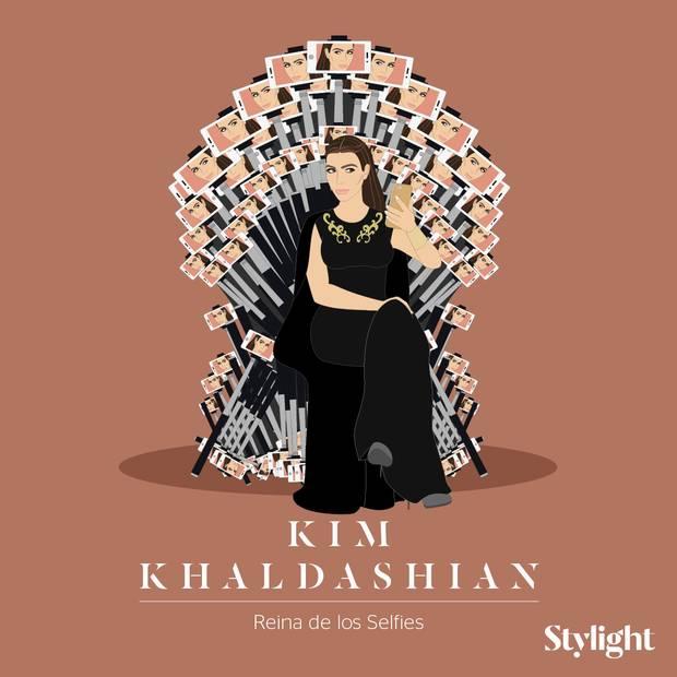 Y si las celebrities fueran personajes de Juego de Tronos-Kim-Kardashian