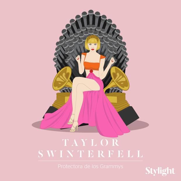 Y si las celebrities fueran personajes de Juego de Tronos Taylor Swift