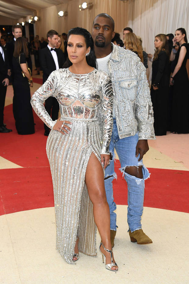 Gala del Met 2016_Kim Kardashian y Kanye West