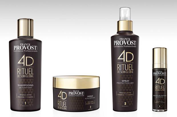 Como conseguir la melena ultra lisa de moda Franck Provost Ritual 4D de Tratamiento Global