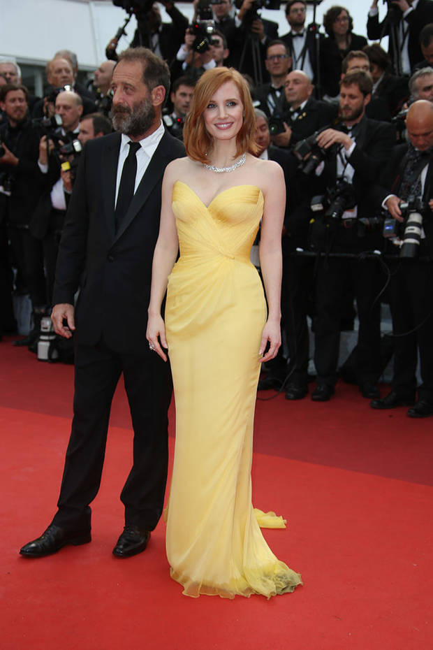 mejores looks cannes jessica chastain