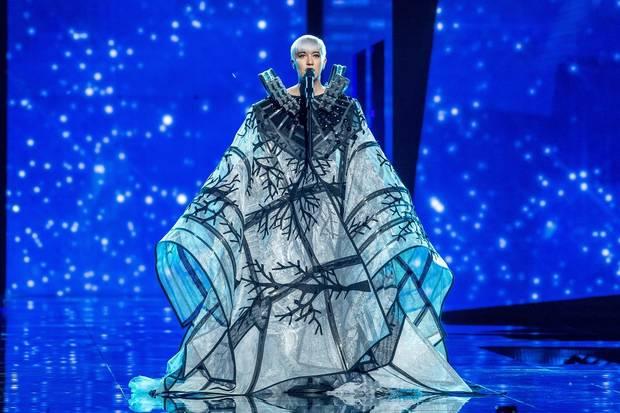 looks mas impactantes semana Eurovision