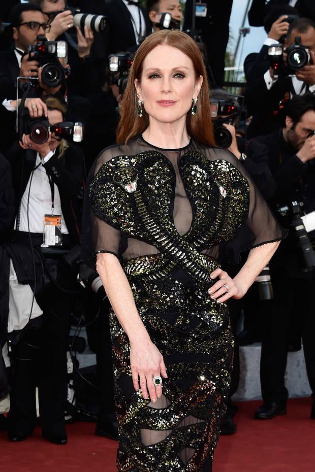 looks mas impactantes semana Julianne-Moore-Cannes
