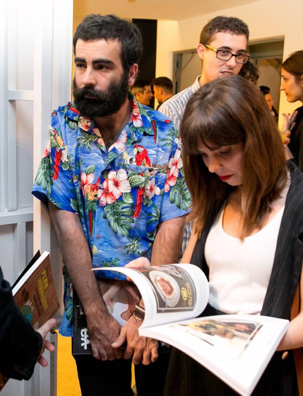 El fotógrafo Pablo Curto y la ilustradora Sara Herranz