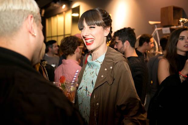 Natalia Ferviú en la fiesta