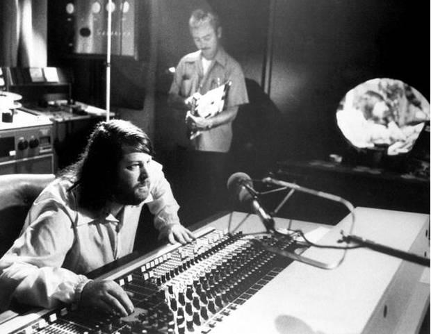 Briand Wilson durante una grabación
