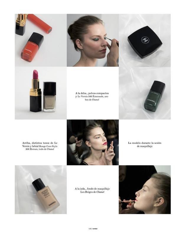 Editorial Belleza Sube el color Making