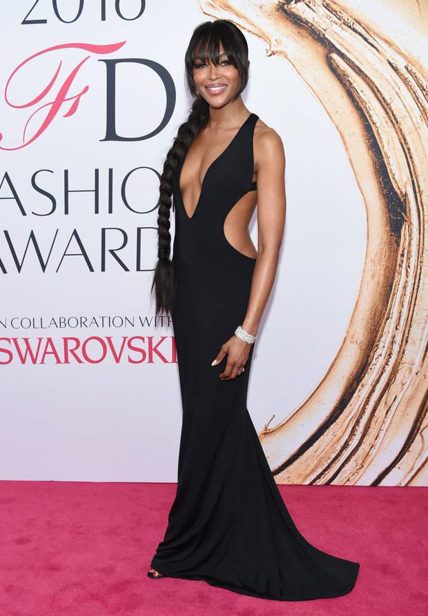 Los looks mas impactantes de la semana Naomi Campbell