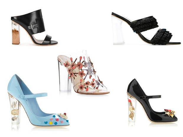 Tacones_flotantes_Hugo boss_Amelie Pichard_Paul Andrew_Dolce & Gabbana_Dolce & Gabbana