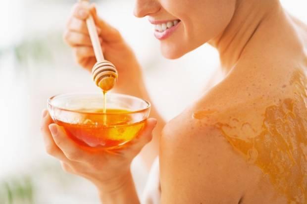Ingredientes de la cosmetica natural miel.3