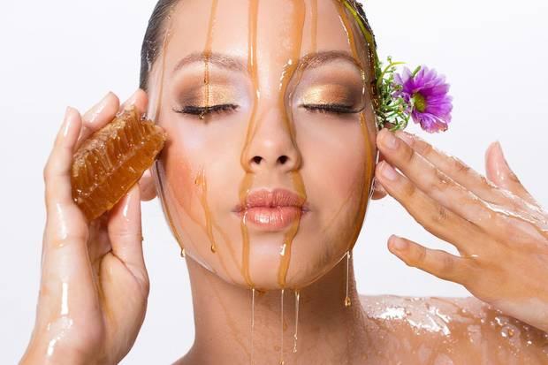 Ingredientes de la cosmetica natural miel.7