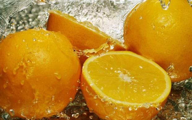 comidas sanas naranja