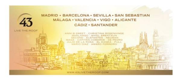 agenda-imprescindibles-fin-de-semana-43-live-the-roof