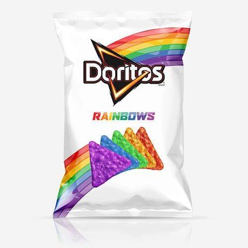 comida arcoíris snack