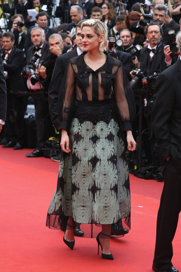 CANNES, FRANCE - MAY 11: Kristen Stewart attends the