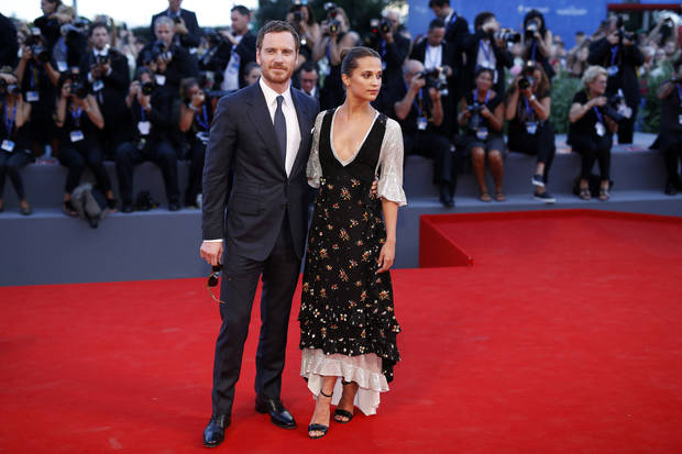 alicia vikander michael fassbender louis vuitton