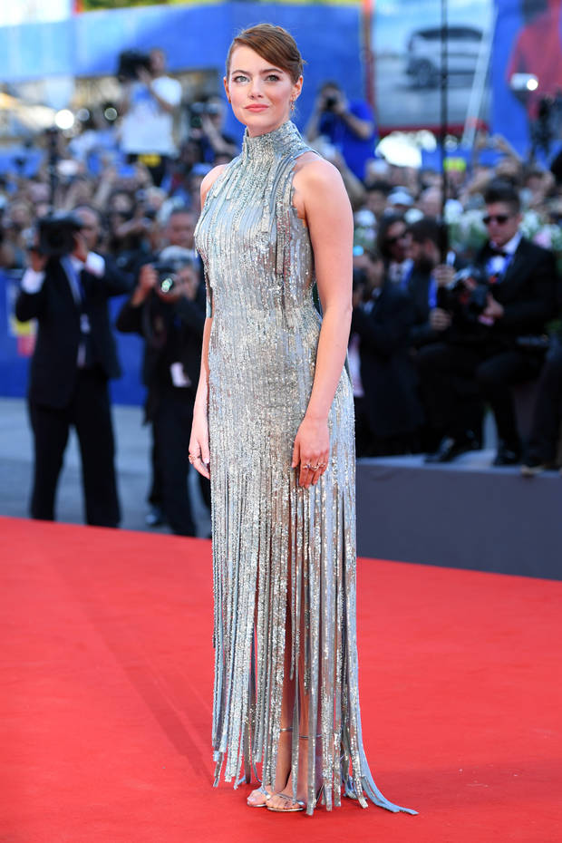 Emma Stone Versace