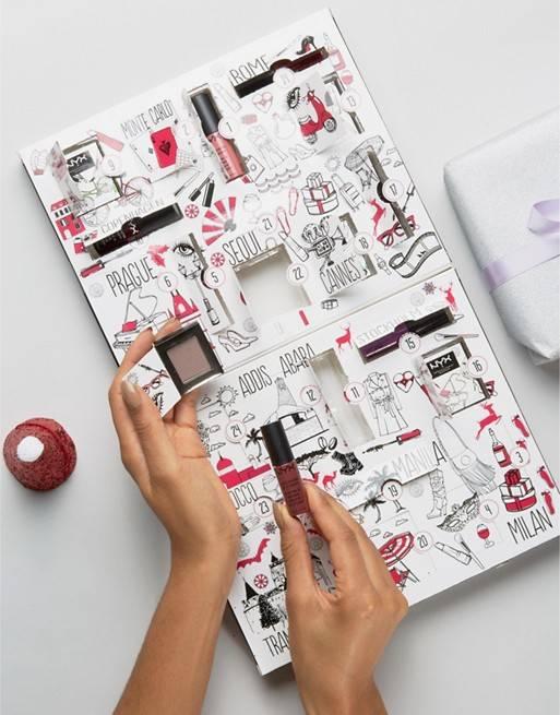 Calendario De Adviento Maquillaje.Estos Son Los Calendarios De Adviento Mas Beauty Vanidad