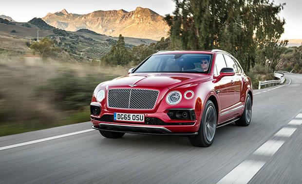 lujo Bentley Bentayga