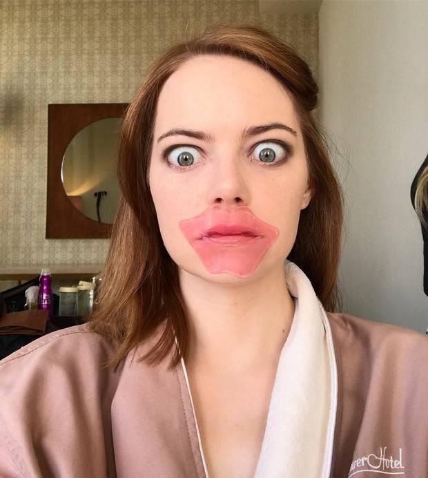 Mascarillas Labiales Emma Stone