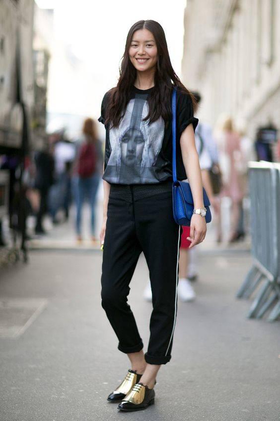 mujeres estilo liu wen