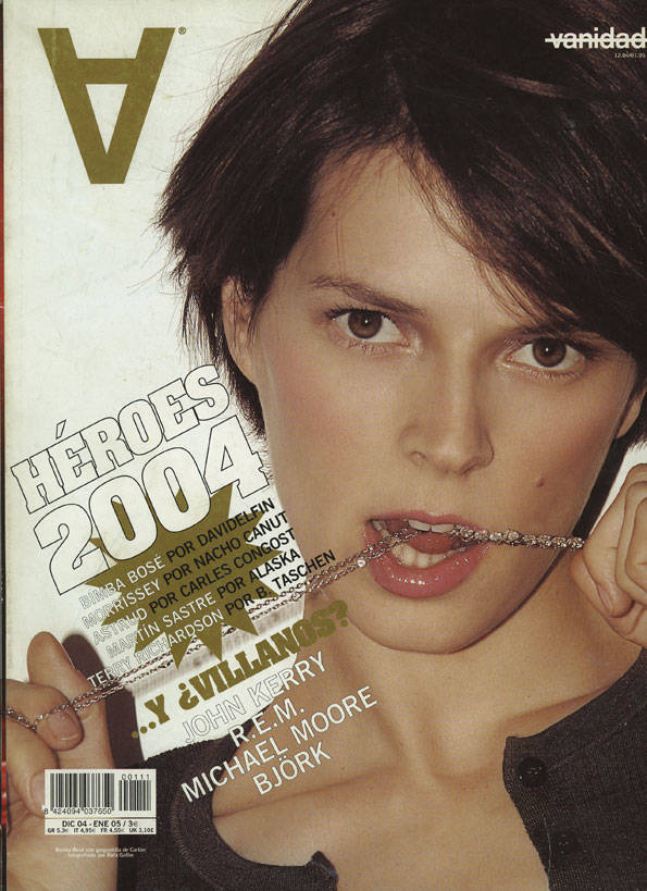 muere bimba bosé portada vanidad 2004