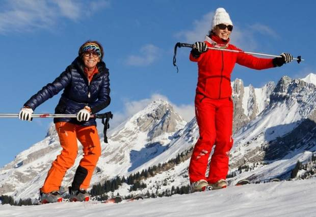 rutinas sorprendentes tai ski