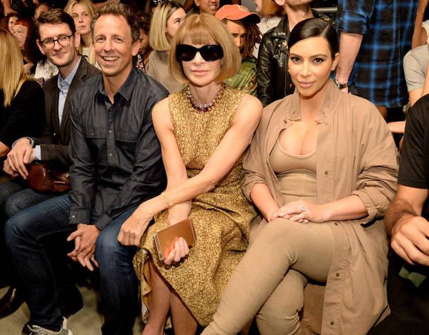 fashion weeks NY Kardashian wintour