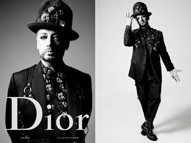 Dior Homme Boy George 3