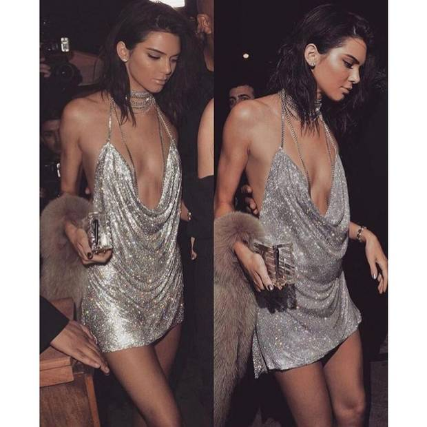 chain mail kendall jenner
