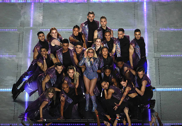 lady gaga super bowl 7