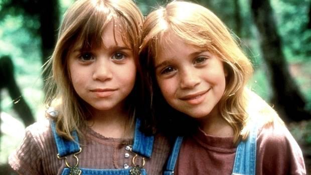 gemelas olsen pequeñas
