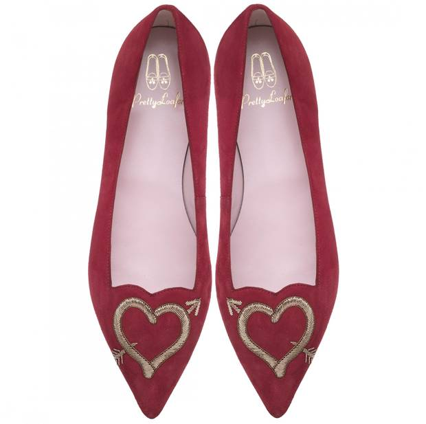 san valentin pretty ballerinas