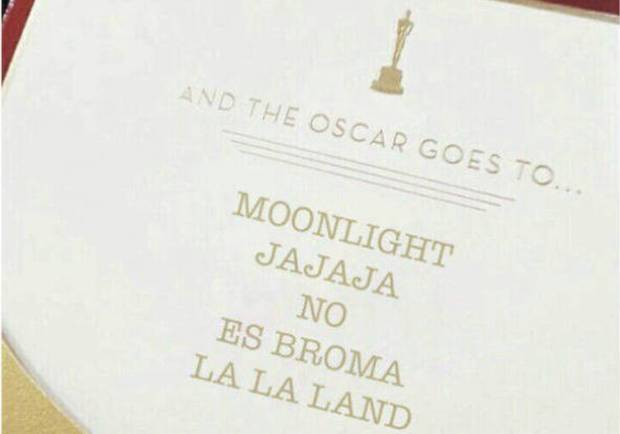 Oscars 2017 epic fail